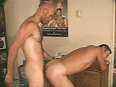 Mature lusty bears in mad ass drilling thrill